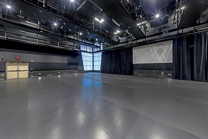 The Black Box Theater will allow H-F performers to set a stage in a variety of locations so that audiences can see the performances from different venues. (Provided photo)