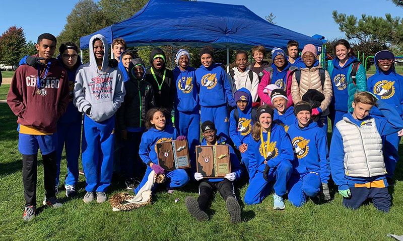 Parker Junior High cross country runners just completed a successful season, with both boys and girls teams placing in state meets. (Provided photo)