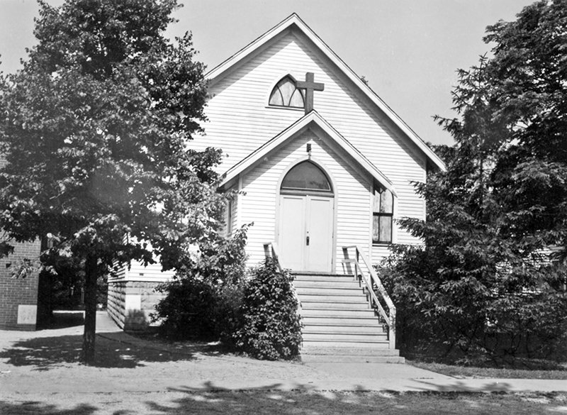 The first Salem Lutheran Church building at 18322 Morris Ave. was dedicated on Sept. 6, 1925. (Provided photo)