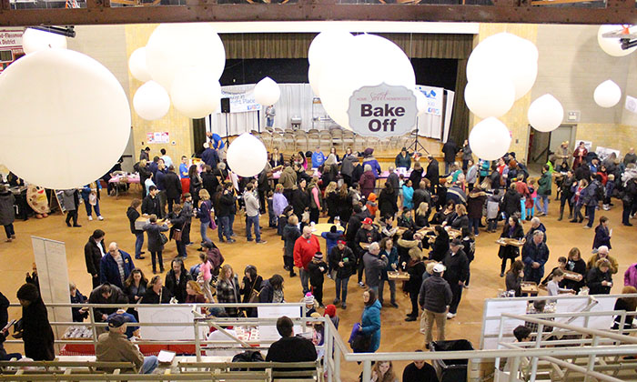 Chocolate Fest 2018 was one of a number of Homewood indoor festivals held in the auditorium while it was leased to the H-F Park District. (Chronicle file photo)