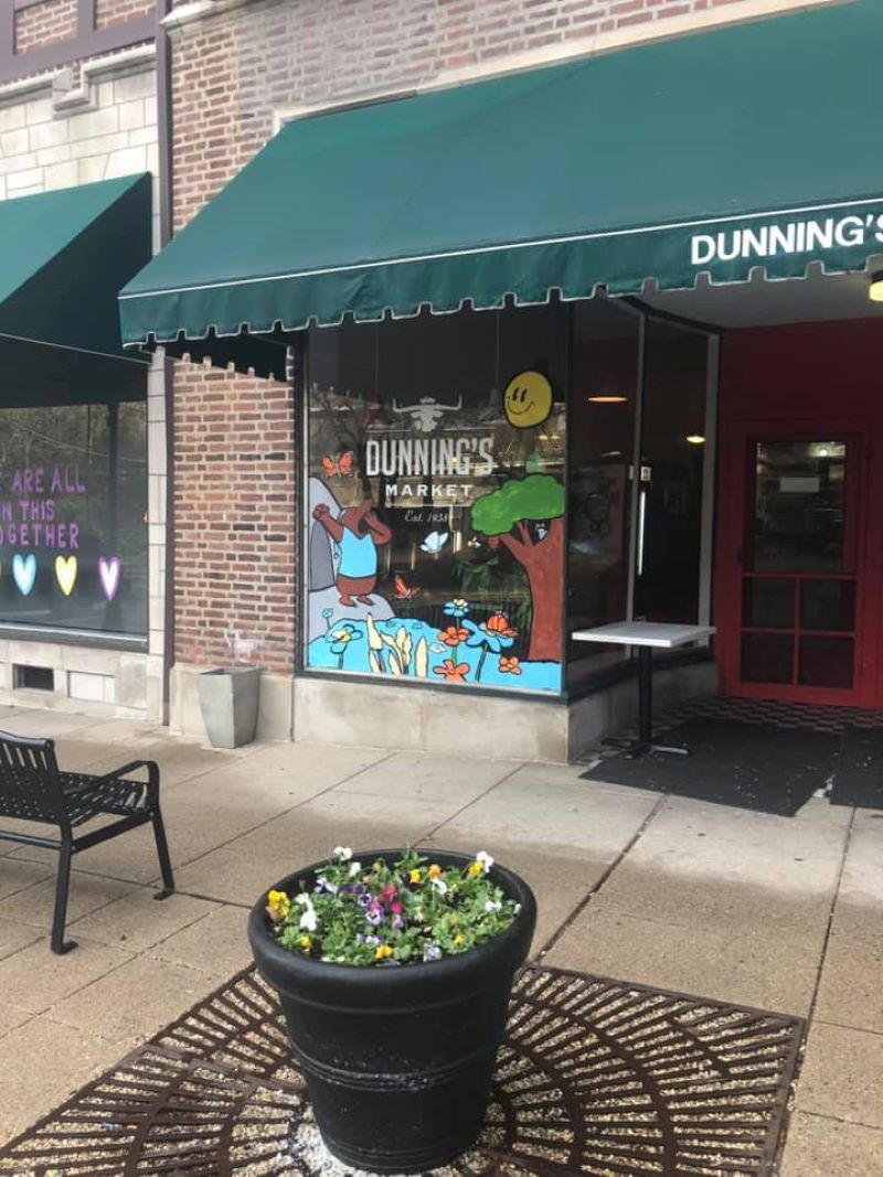 Dunning's Market in Flossmoor now has a license to sell beer and wine. (Facebook photo)