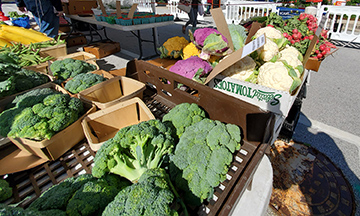 Fresh produce will be available at the Homewood Farmers Market on July 11. Village officials urge customers to order in advance if possible and to take advantage of curbside service. (Chronicle file photo)