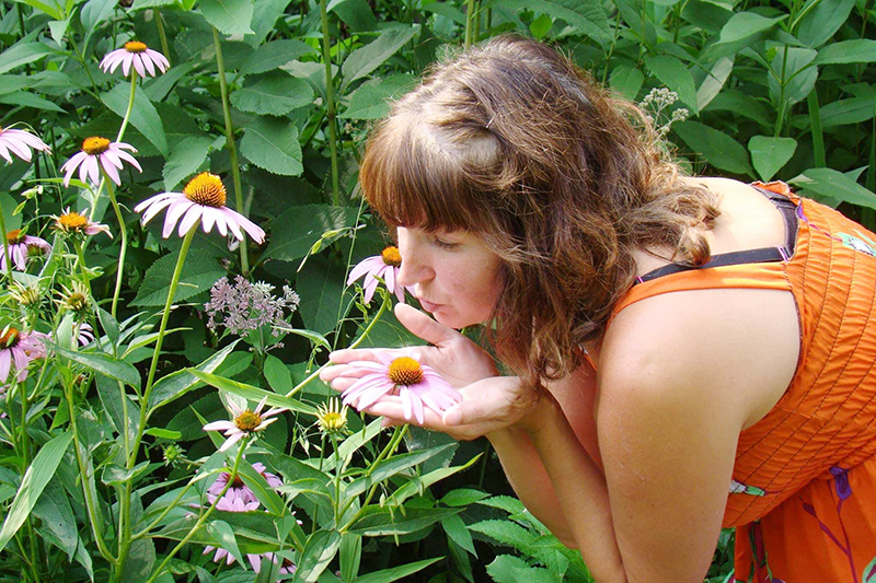 Heather Poppe sure appreciates the echinacea, also called purple cone flower, in her native garden. (Provided photo)
