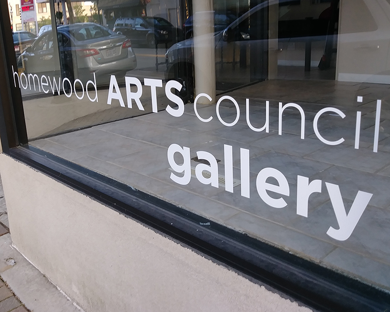Homewood Arts Council will hold a grand opening for its art gallery from 6 to 10 p.m. Thursday at 2023 Ridge Road. (Eric Crump/H-F Chronicle)