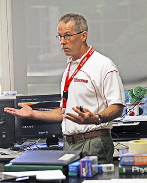 Homewood-Flossmoor High School physics teacher Brian McCarthy is retiring. (Provided photo)