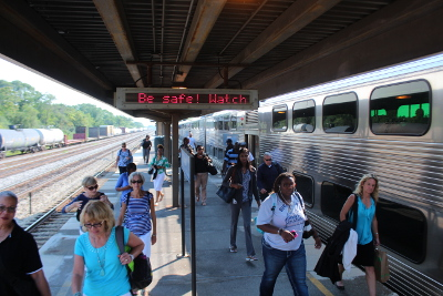 Metra is offering free rides this weekend in an effort to encourage ridership throughout the year.