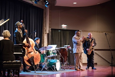 Orbert Davis will again lead some of the finest jazz musicians in the area in the annual Prairie State College's Jazz Festival. (Provided photos)