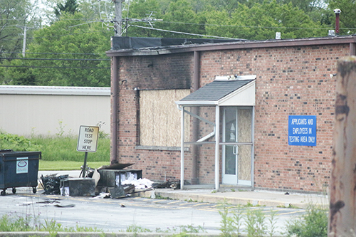 Fire damage at the Chicago Heights driver's services facility has stressed the Secretary of State's system, already taxed because of COVID. (Chronicle file photo)