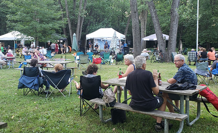 The Trail Mix festival in July 2019 brought together musicians, artists and music lovers for a one-day event.  This year, the music will be spread over three days from June to October.  (Photo provided)