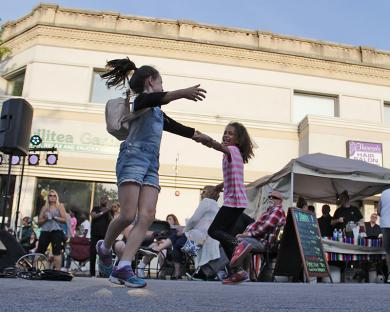 ... and had the kids dancing in the street.