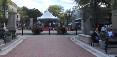 Fall Fest is the first event held on the new Martin Square streetscape.